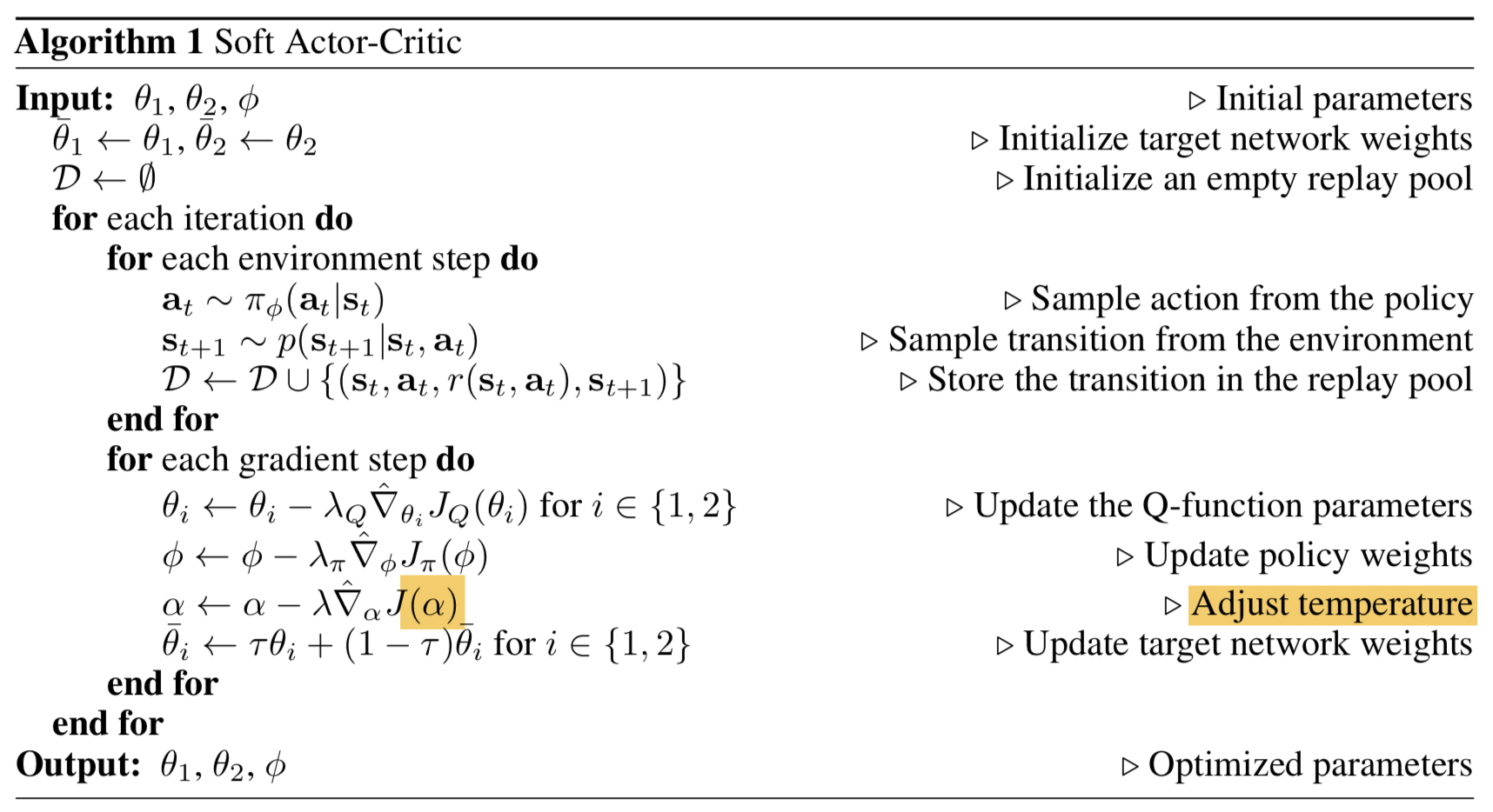 Policy Gradient Algorithms